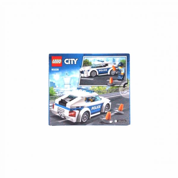 Lego city politieauto