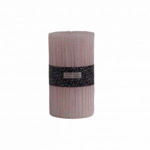 Ribberkaars licht roze
