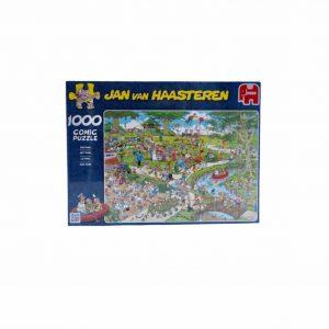 Puzzel 1000 stukjes Jan van Haasteren het park