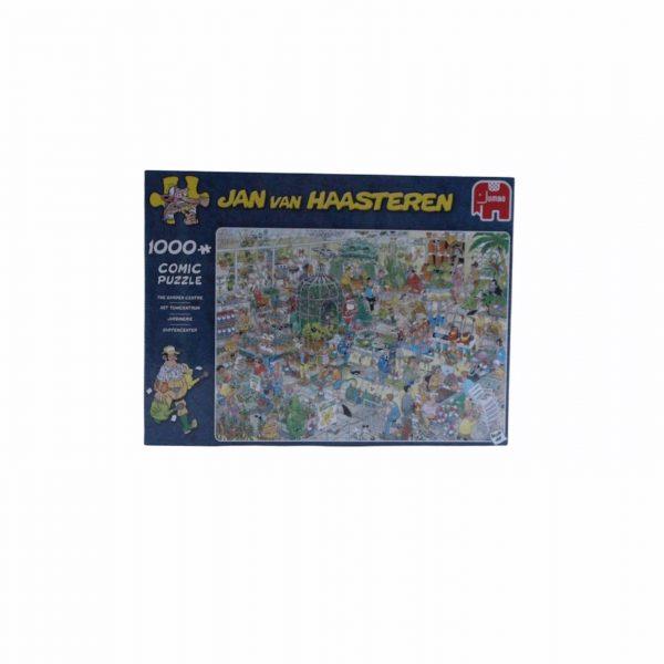puzzel 1000 stukjes Jan van Haasteren het tuincentrum
