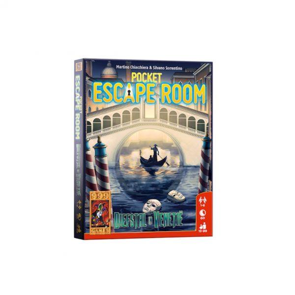 Pocket escape room diefstal in Venetië