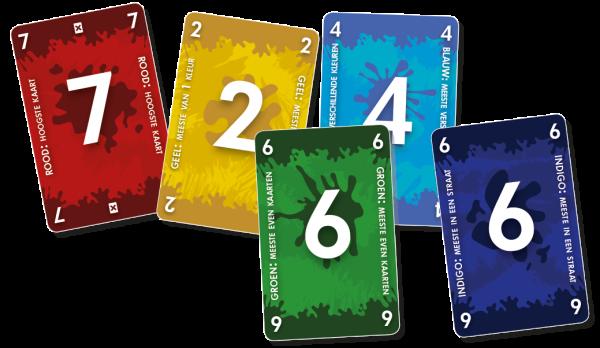 Red7 kaartspel