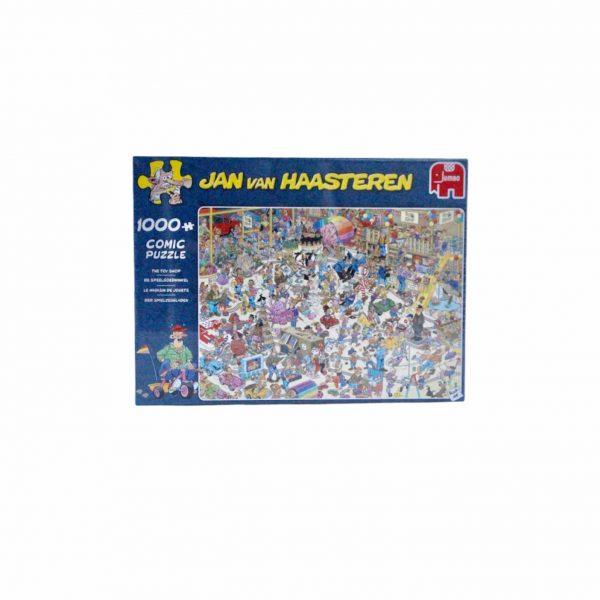 Puzzel 1000 stukjes jan van haasteren de speelgoedwinkel