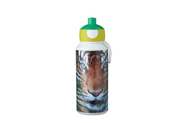 drinkfles-pop-up-campus-400-ml-animal-planet-tijger