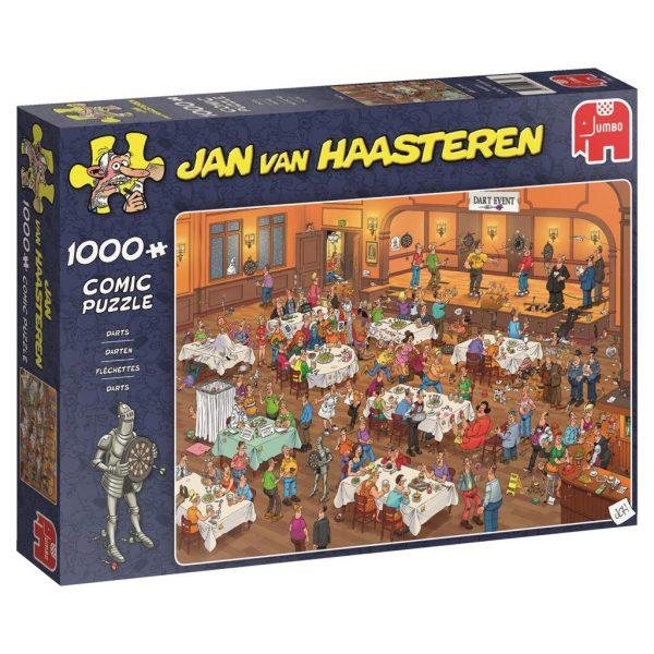 Jan van haasteren legpuzzel darts