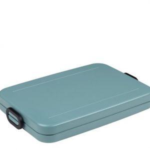 Mepal lunchbox flat mint groen