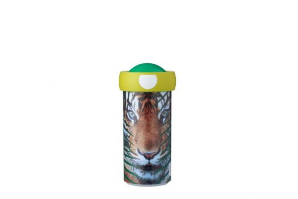 schoolbeker-campus-300-ml-animal-planet-tijger