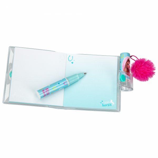 Miss melody ringboek mini met pen