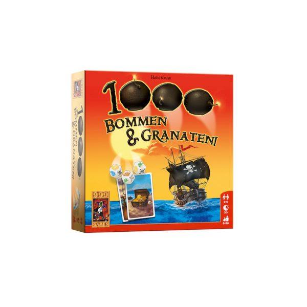 1000 bommen en granaten dobbelspel