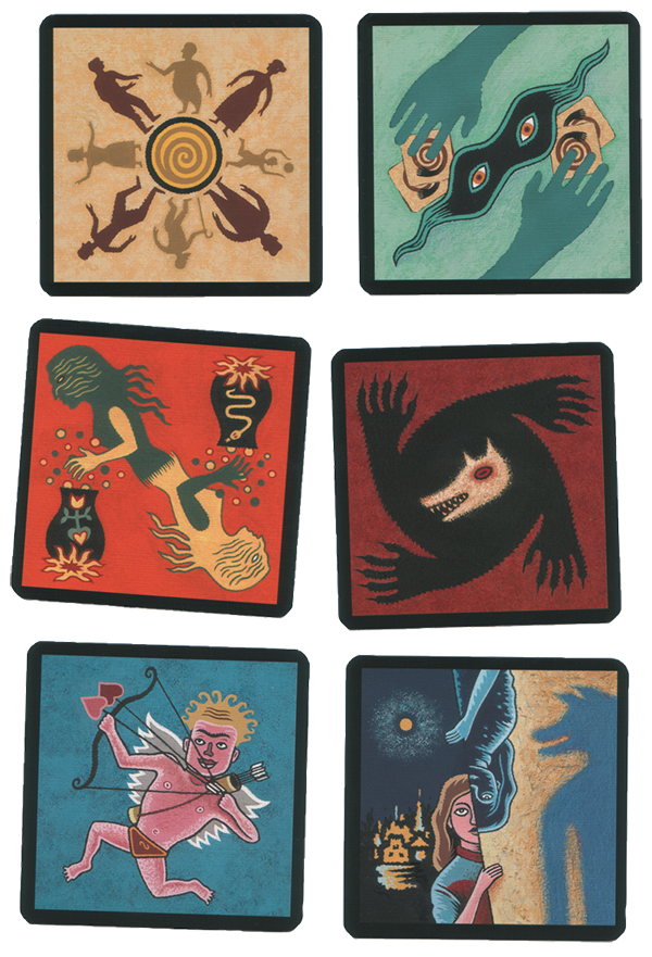 De weerwolven van wakkerdam kaarten