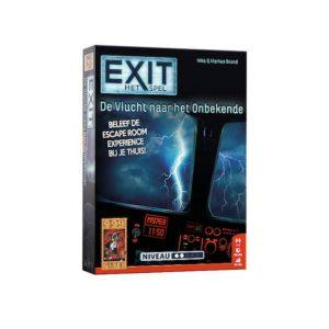 Exit vlucht naar het onbekende