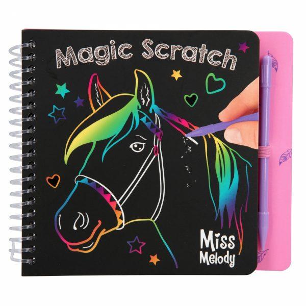 Miss melody mini magic scratch boek
