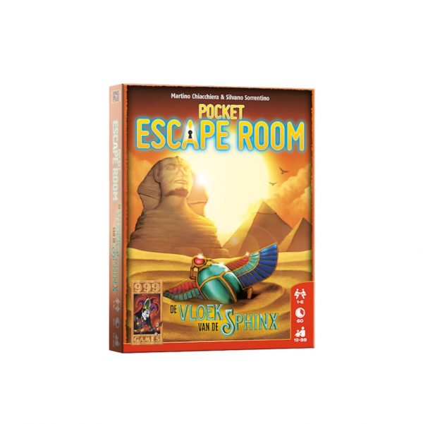 Pocket escape room de vloek van sphinx