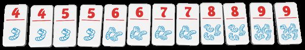 Regenwormen junior speelmateriaal