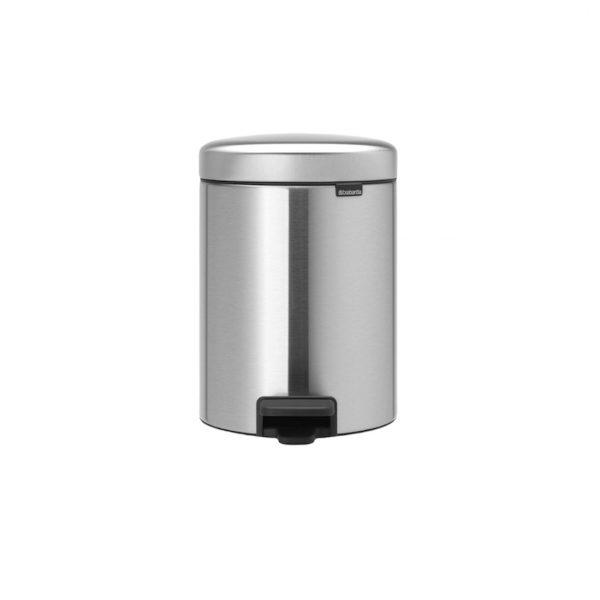 Brabantia pedaalemmer 3L matt steel