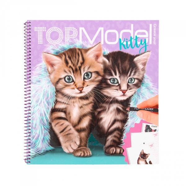 TOPModel kleurboek create your kitty