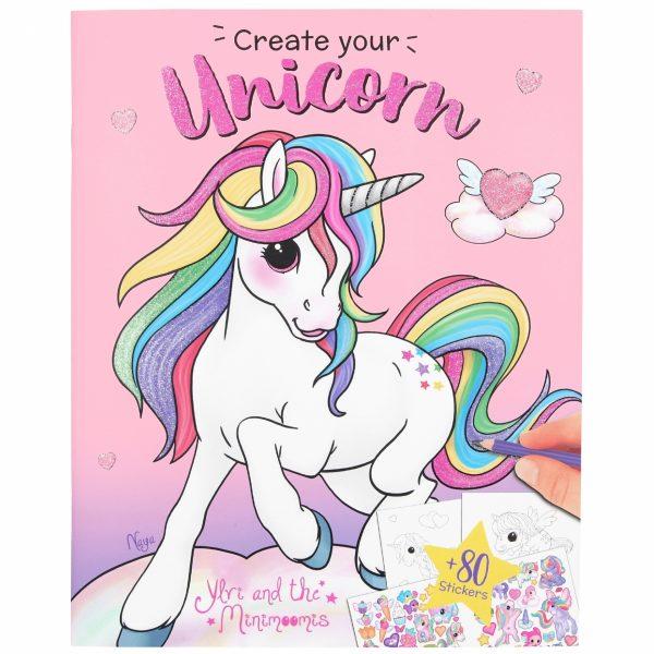 Ylvi create your unicorn kleuboek