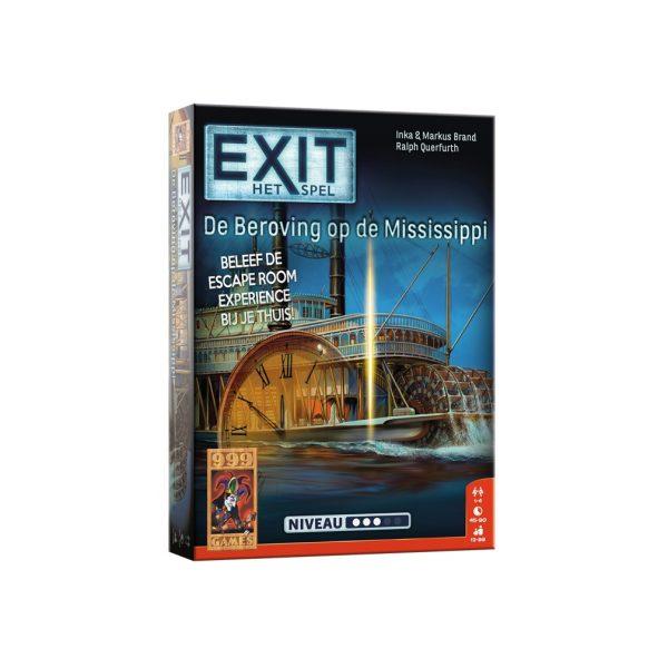 Exit de beroving op de Mississippi