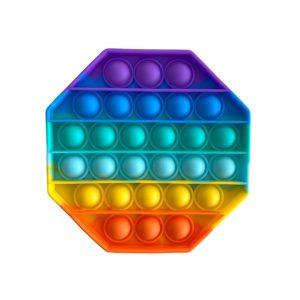 POP IT hexagon rainbow