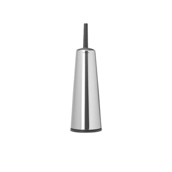 Brabantia toiletborstel met houder matt steel