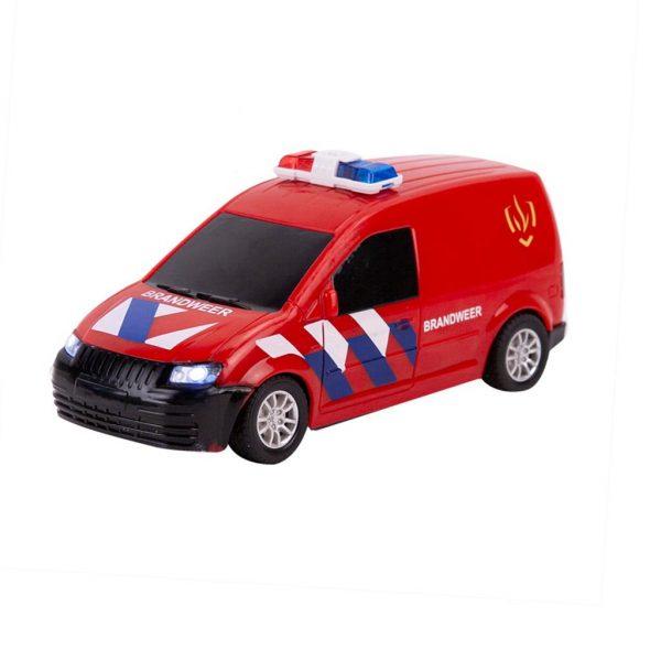 Brandweerauto met licht