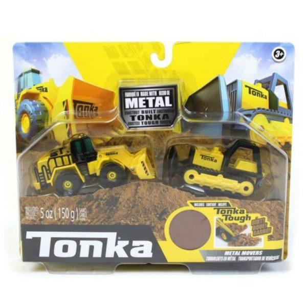 Tonka Bull dozer and front loader