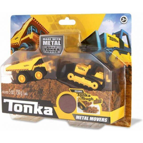 Tonka Mighty dump and bull dozer