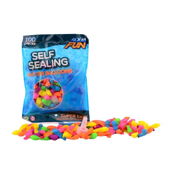 Waterballonnen zelfafsluitbaar 100 stuks