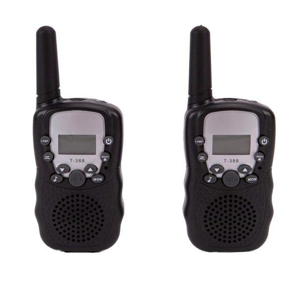 Alert walkie talkie zwart 3km