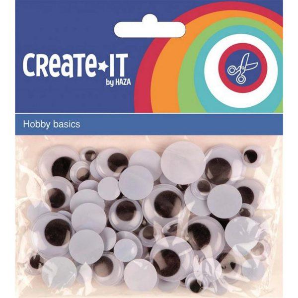 Create-it bewegende ogen