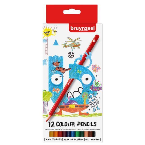 Bruynzeel kleurpotloden 12 stuks