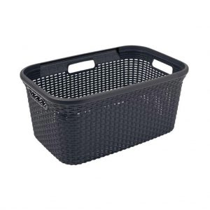 Curver style wasmand 45 L antraciet