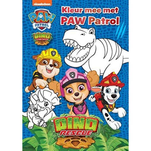 kleurboek paw patrol
