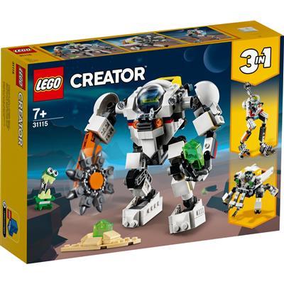 Lego creator 3in1 ruimtemijnbouw-mecha