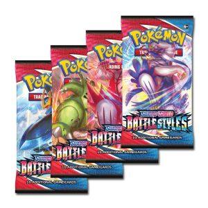 Pokemon kaarten battle style